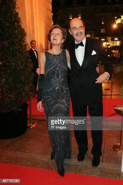 Fritz von Thurn and Taxis and Frau attend the German Sports Media Ball at Alte Oper on November 05 2016 in Frankfurt am Main Germany