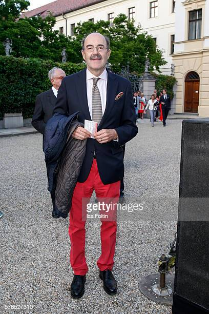 Fritz von Thurn und Taxis attends the Thurn Taxis Castle Festival 2016 'Carmen' Opera Premiere on July 15 2016 in Regensburg Germany