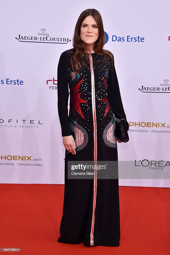 Fritzi Haberlandt attends the Lola - German Film Award (Deutscher Filmpreis) on May 27, 2016 in Berlin, Germany.
