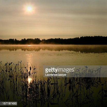 Frog Lake sunrise