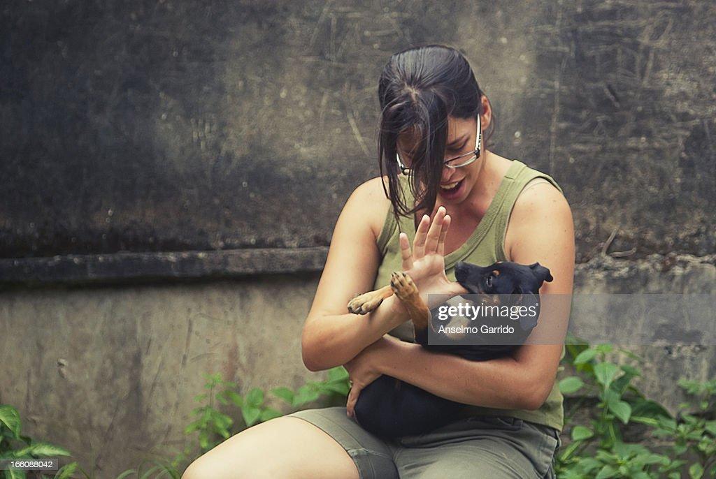 Frois e Olívia : Foto de stock
