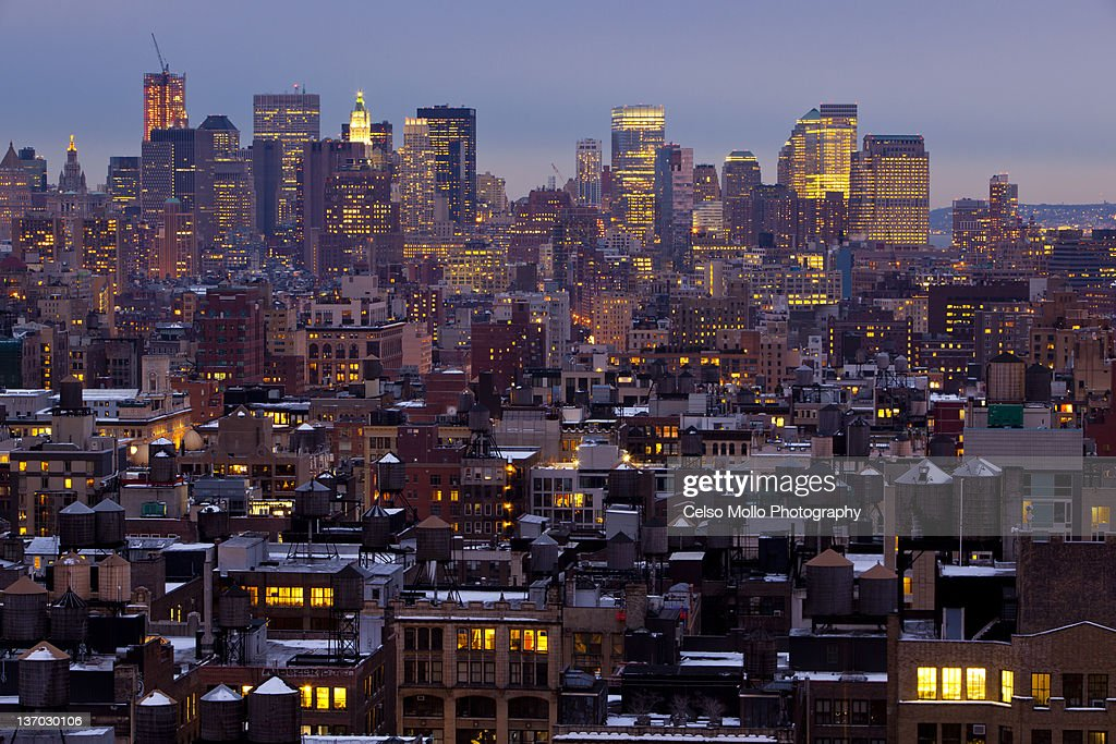 NYC from above : Stock Photo