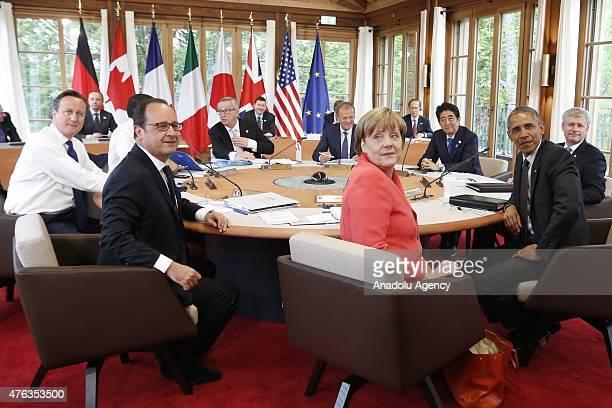 From British Prime Minister David Cameron Italian Prime Minister Matteo RenziFrench President Francois Hollande President of the European Commission...