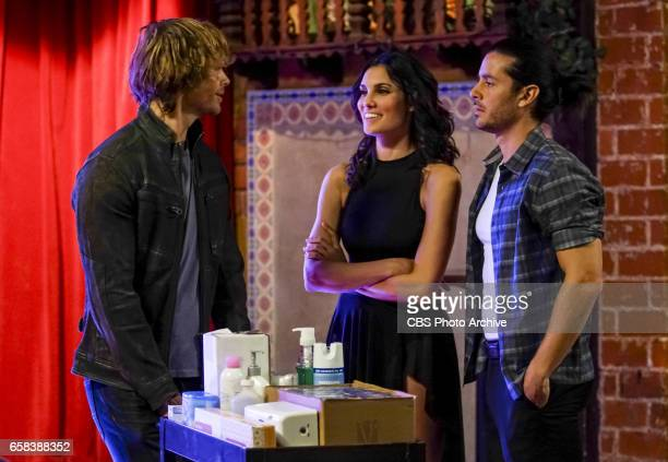 'From Havana with Love' Pictured Eric Christian Olsen and Daniela Ruah The NCIS team investigates a defense contractor Rebecca Larmont designing a...