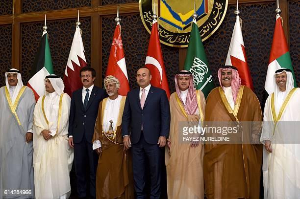 Kuwait's Foreign Minister Sheikh Sabah alKhaled alSabah Qatar's Foreign Minister Mohammed bin Abdulrahman bin Jassim alThani Turkish Economy Minister...