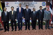 Le Luong Minh Secretary General of ASEAN Vietnams Foreign Minister Pham Binh Minh US Secretary of State John Kerry Thailands Foreign Minister General...