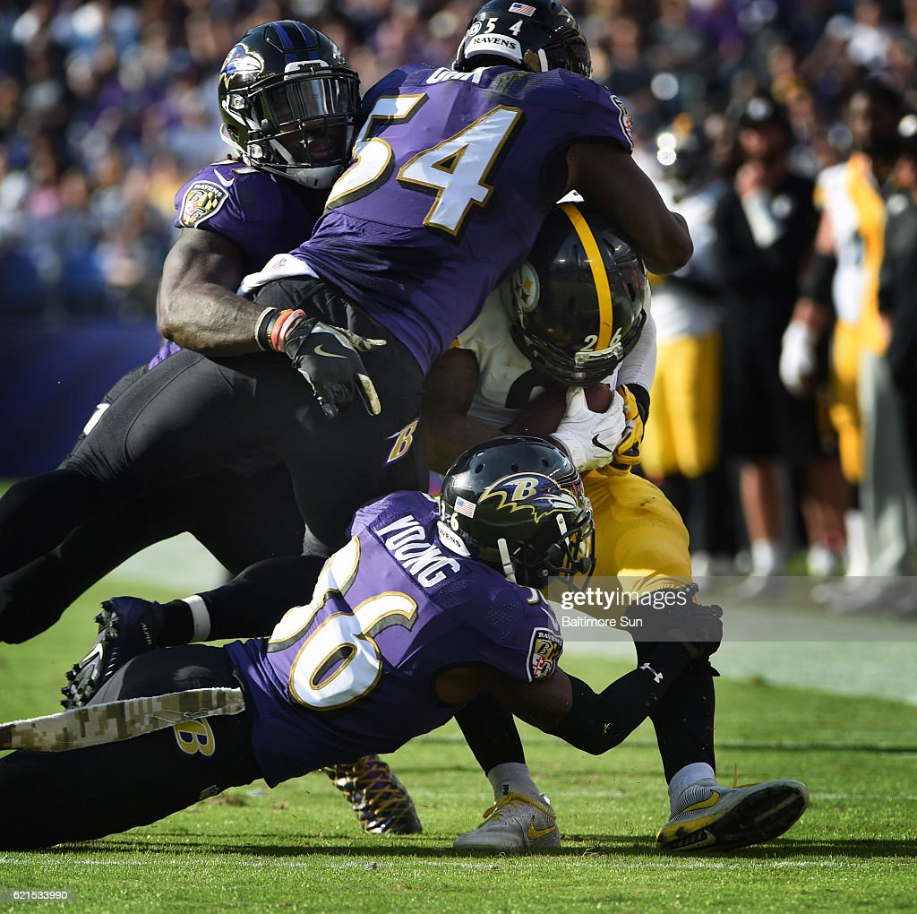Ravens take AFC North lead with 21 14 win over sloppy Steelers