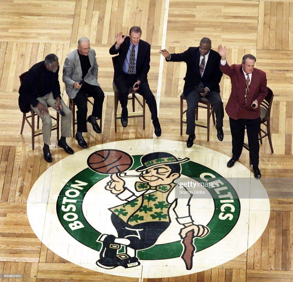 Celtics Legends Mark Final Game Original Boston Garden Parquet