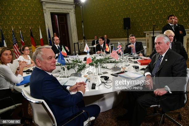 EU High Representative for Foreign Affairs and Security Policy Federica Mogherini Canadian Foreign Minister Chrystia Freeland French Foreign Minister...