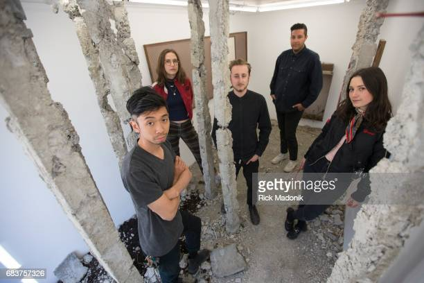 TORONTO ON FEB 24 TORONTO ON MAY 12 From left Phu Bui Kate Benedict Matthew Kyba John Elmar and Tamara Hart Bunker 2 is an art installation inside a...