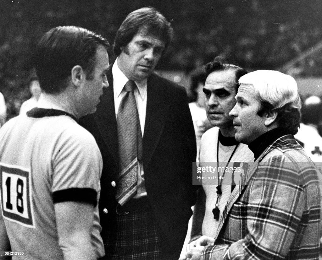 Boston Celtics Coach Tom Heinsohn