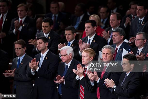 From left Rep Peter Roskam RIll Rep Paul Ryan RWisc Rep Harold Rogers RKy Rep James Lankford ROkla Majority Whip Kevin McCarthy RCalif and Majority...