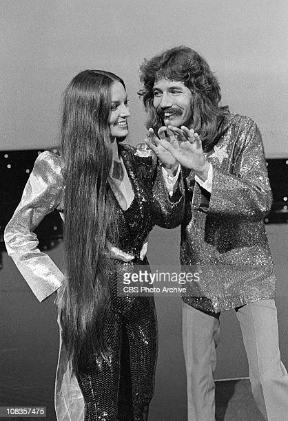 From left singer Crystal Gayle and magician Doug Henning for The Crystal Gayle Special Image dated September 1 1979