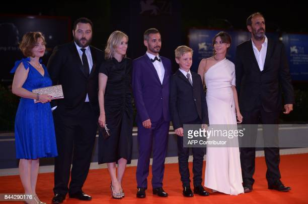 Sophie Pincemaille actor Denis Menochet Lea Drucker director Xavier Legrand actor Thomas Gioria actress Mathilde Auneveux and producer Alexandre...
