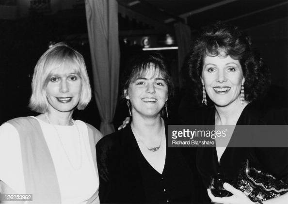 From left to right American actress Sally Kellerman singersongwriter Pema Clark and her mother English actress Lynn Redgrave during a screening of...
