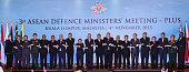 From left to right Australia's Defense Minister Marise Payne Brunei's Defense Minister Mohammad Yasmin Umar Cambodia's Defense Minister Gen Tea Banh...