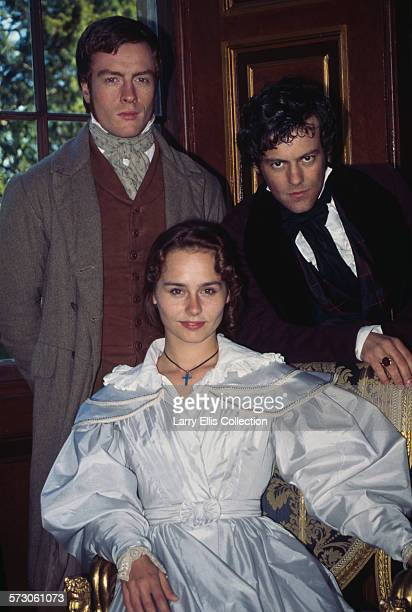 From left to right British actors Toby Stephens Tara Fitzgerald and Rupert Graves n a publicity still for the British television miniseries 'The...
