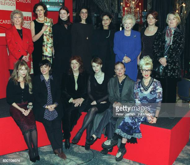 From left to right front row Morwenna Banks Arabella Weir Christine McLean Helen Baxendale Samantha Janus Jenny Eclair back row Billie Whitelaw Fiona...