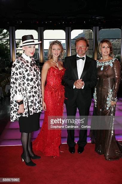 Genevieve de Fontenay Miss France 2002 Sylvie Tellier Guillaume Durand and Natacha Amal