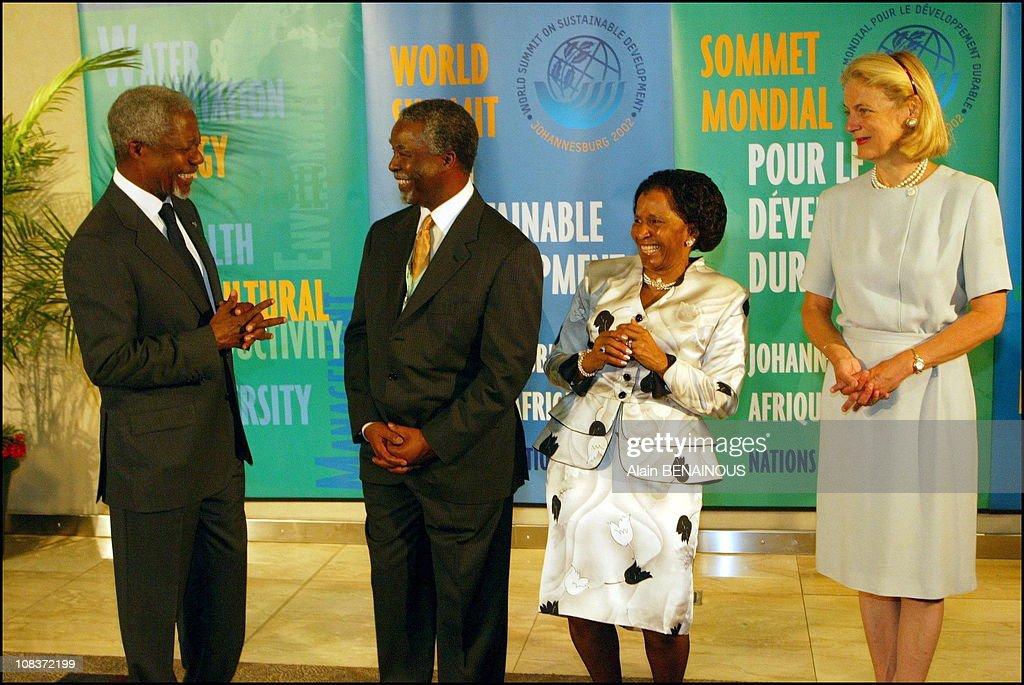 <a gi-track='captionPersonalityLinkClicked' href=/galleries/search?phrase=Kofi+Annan&family=editorial&specificpeople=169832 ng-click='$event.stopPropagation()'>Kofi Annan</a>, <a gi-track='captionPersonalityLinkClicked' href=/galleries/search?phrase=Thabo+Mbeki&family=editorial&specificpeople=160910 ng-click='$event.stopPropagation()'>Thabo Mbeki</a> and his wife, Miss <a gi-track='captionPersonalityLinkClicked' href=/galleries/search?phrase=Kofi+Annan&family=editorial&specificpeople=169832 ng-click='$event.stopPropagation()'>Kofi Annan</a> in Johannesburg, South Africa on September 02, 2002.