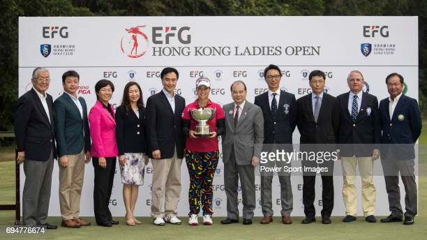From Left to right Koichi Kato President / Commissioner of LAGT Tsengkwan Pen Honorary Vice President of CGA Cheng Mei Chi Chairwoman of TLPGA Pei...