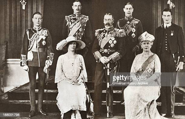 From Left To Right The Prince Of Wales Later Edward Viii Prince Henry The Duke Of Gloucester The Princess Mary Princess Royal And Countess Of...