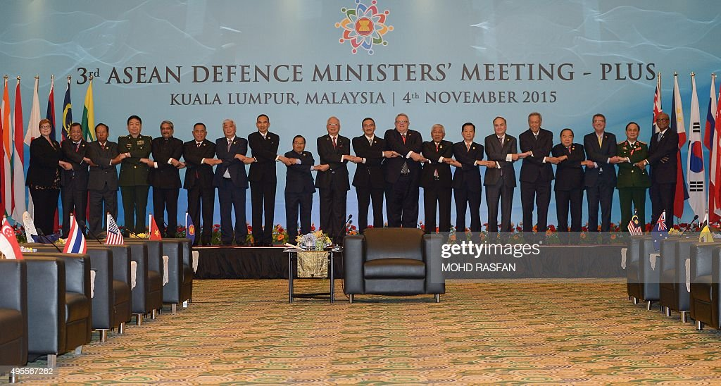 Australia's Defence Minister Marise Payne Brunei's Minister of Energy at the Prime Ministers' Office Mohammad Yasmin Umar Cambodia's Defence Minister...