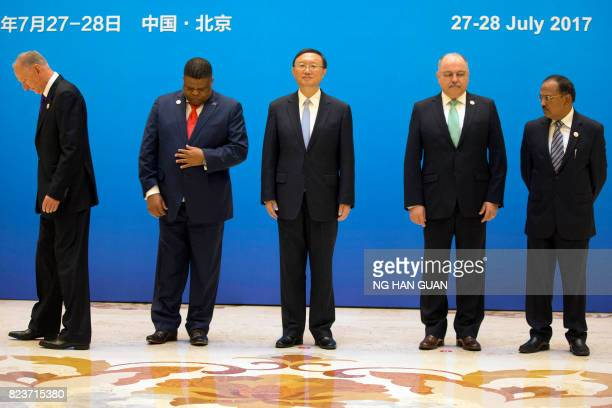 Russian Security Council Secretary Nikolai Patrushev South African Minister of State Security David Mahlobo Chinese State Councilor Yang Jiechi...