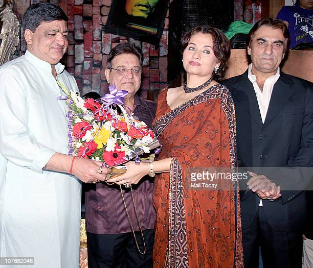 From Naresh AgarwalAnil NagrathSalma Agha and Ali at Salma Agha's bash at Dockyard in Mumbai