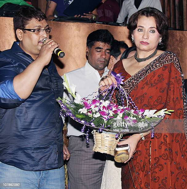 From Sanjay Bedia Welcoming Salma Agha at her bashDockyard in Mumbai