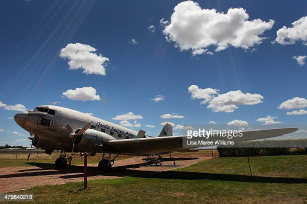 DC3 from the 1940's as seen on display at the QANTAS Founders Museum on March 21 2014 in Longreach Australia The Australian government are...