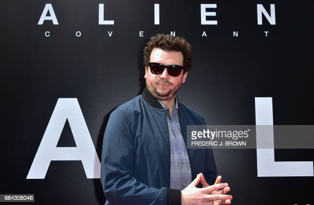 From the cast of 'Alien Convenant' actor Danny McBride arrives on the red carpet ahead of Sir Ridley Scott's Hand and Footprint ceremony in front of...