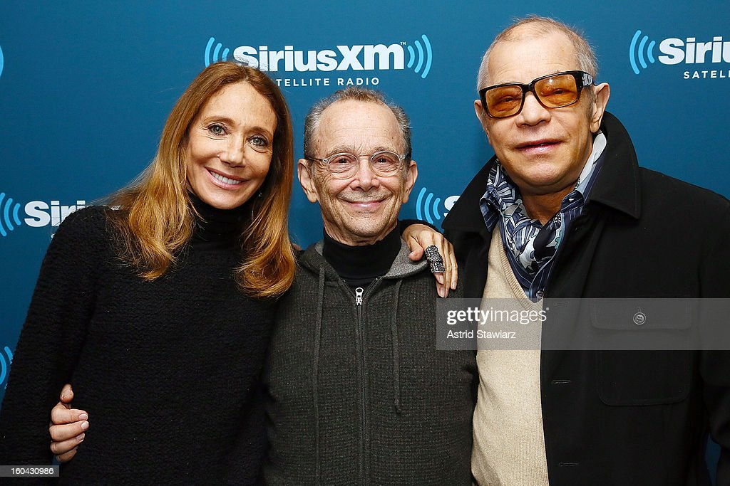From the cast of 'Cabaret', actors <a gi-track='captionPersonalityLinkClicked' href=/galleries/search?phrase=Marisa+Berenson&family=editorial&specificpeople=206844 ng-click='$event.stopPropagation()'>Marisa Berenson</a>, <a gi-track='captionPersonalityLinkClicked' href=/galleries/search?phrase=Joel+Grey&family=editorial&specificpeople=215297 ng-click='$event.stopPropagation()'>Joel Grey</a> and <a gi-track='captionPersonalityLinkClicked' href=/galleries/search?phrase=Michael+York&family=editorial&specificpeople=209058 ng-click='$event.stopPropagation()'>Michael York</a> visit the SiriusXM Studios on January 31, 2013 in New York City.