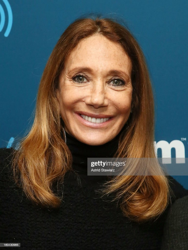 From the cast of 'Cabaret', actress <a gi-track='captionPersonalityLinkClicked' href=/galleries/search?phrase=Marisa+Berenson&family=editorial&specificpeople=206844 ng-click='$event.stopPropagation()'>Marisa Berenson</a> visits the SiriusXM Studios on January 31, 2013 in New York City.