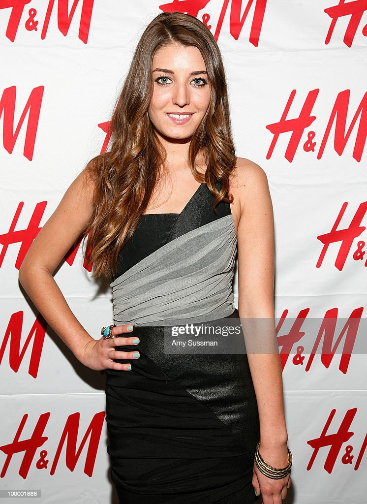 From The City, Samantha Swetra attends H&M's launch of Fashion Against AIDS at H&M Fifth Avenue on May 19, 2010 in New York City.