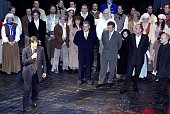 From the final performance 'Les Miserables' during The Final Performance of Broadway's LongRunning Tony AwardWinning Musical 'Les Miserables' at The...