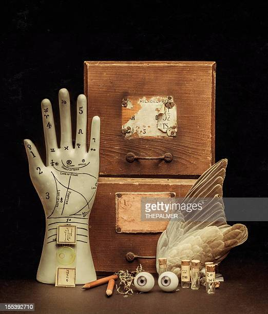 from the fortune teller's cabinet