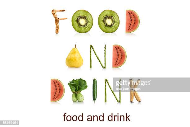 From the Health-abet, food and drink