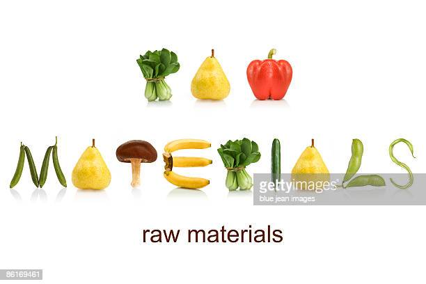From the Health-abet, raw materials