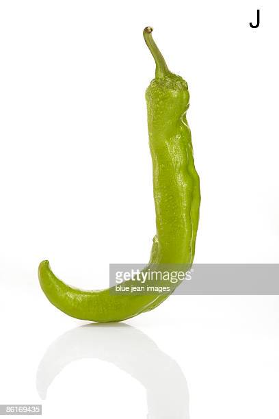 From the Health-abet, the Letter J, a green chili pepper.