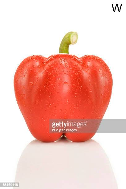 From the Health-abet, the Letter W, a red bell pepper.