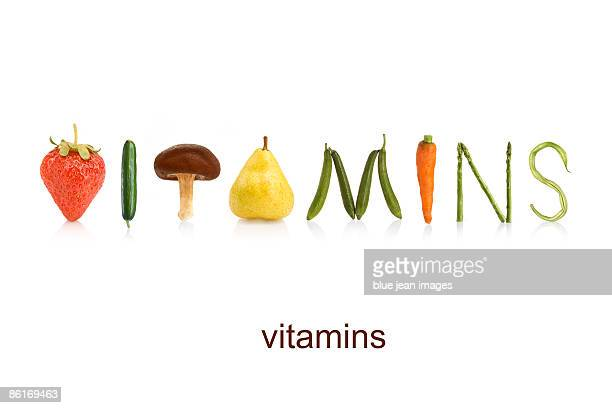 From the Health-abet, vitamins