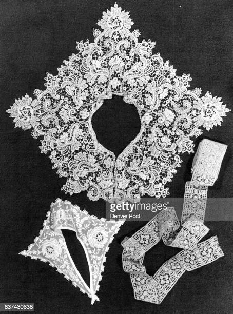 From the Turn of the Century Nothing beats the quality of vintage garb but if you only want the flavor of days gone by try some antique lace collars...