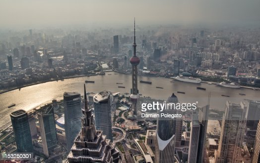 From top of Shanghai