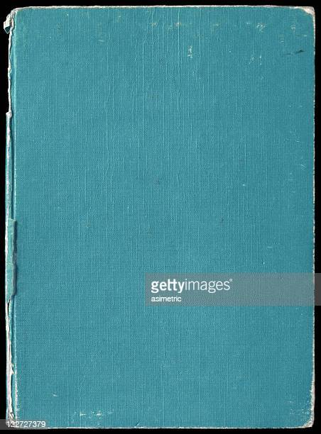 Front cover of a blue notebook