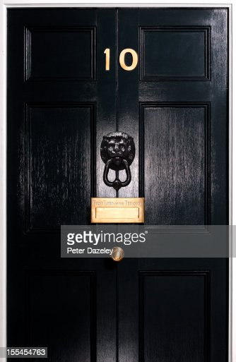 10 downing street door stock photos and pictures getty for Front door 10 downing street