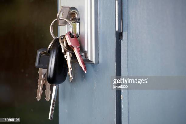 Front door keys