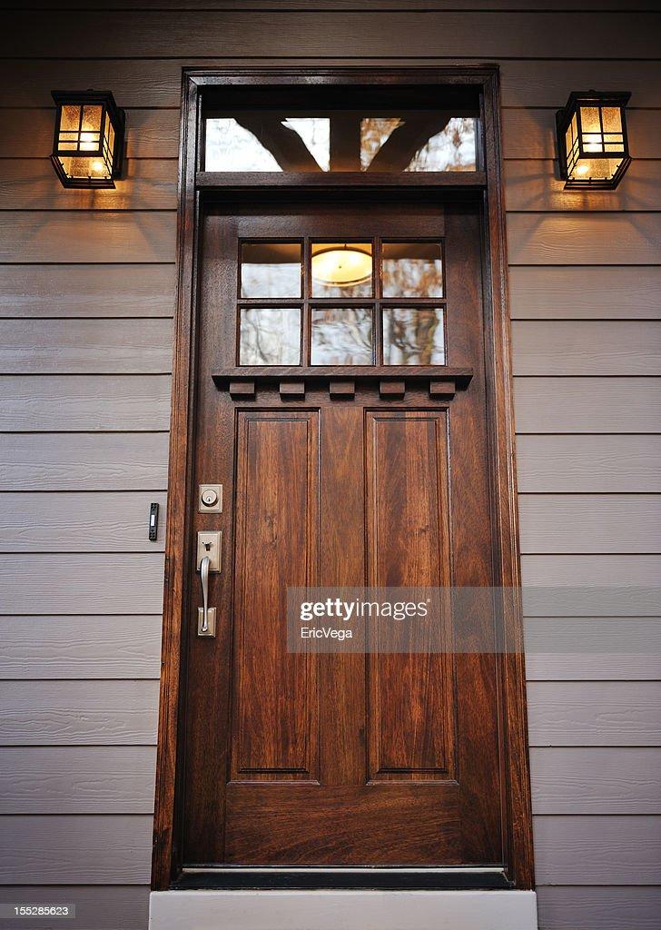 Front Door of House. : Stock Photo