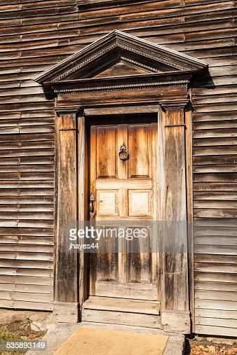 Rezeption des Geburtshaus von John Adams : Stock-Foto
