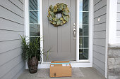 package at front door